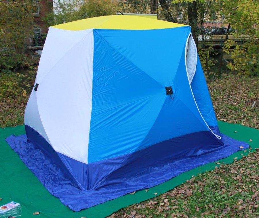 палатка для зимней рыбалки куб 3