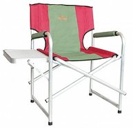 Фото кресло складное усиленное со столиком woodland super max+