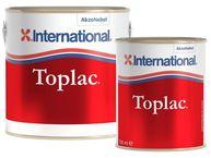 Фото силикон-алкидная эмаль «toplac» темно-бордовый (350), 0,75 л.