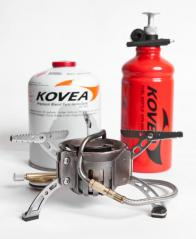 Фото горелка мультитопливная kovea (газ-бензин) кв-0603 (с флягой)