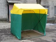 Фото Палатка торговая 1,5х1,5 p(кабриолет) (2 места)