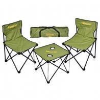Фото набор складной мебели в чехле boyscout турист (стол + 2 стула) 61125