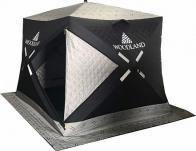 Фото Зимняя палатка куб woodland ultra, трехслойная