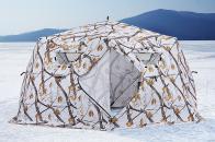 Фото Зимняя палатка шестигранная higashi winter camo yurta