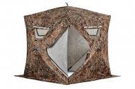 Фото Зимняя палатка куб higashi camo comfort