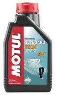 Фото Полусинтетическое моторное масло motul 10w-40 для 4-х тактных ПЛМ, 5 л