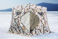 Фото Зимняя палатка куб higashi winter camo pyramid