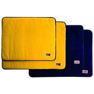 Фото набор ковриков, 2 желтых, 2 темно-синих, 60x45 и 50x40 см