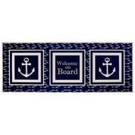 Фото коврик виниловый «welcome on board», 130x50 см