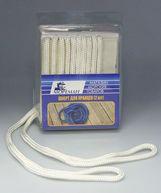 Фото плетеный шкерт для кранцев, 6,4 мм x 1,8 м, белый