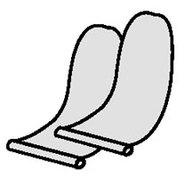 Фото фиксирующий лепесток для крепления банки