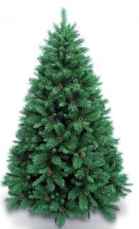 Фото ель royal christmas detroit с шишками 527210 (210 см)
