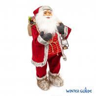 Фото Игрушка Дед Мороз под елку 80 см m40