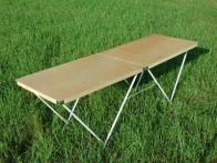 Фото Стол для торговли раскладной 180х60 см
