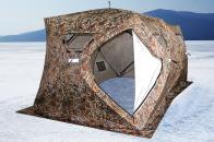 Фото Зимняя палатка куб higashi double camo pyramid