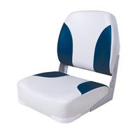 Фото сиденье мягкое складное classic low back seat, серо-синее