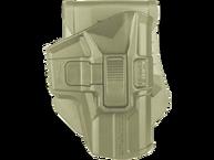 Фото кобура 2 уровня поворотная для glock 9 мм fab defense g-9sr бежевая
