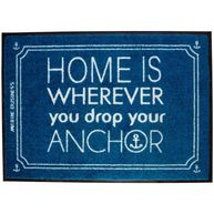 Фото коврик на нескользящей основе «home», 70x50 см