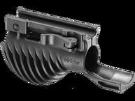 Фото рукоятка тактическая с креплением для фонаря диаметром 1 дюйм fab defense miki 1