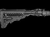 Фото Приклад телескопический складной с амортизатором для АКМС fab defense m4-akms p sb