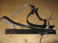 Фото Крепление для лыж Охотничье кожа с ремнями 40мм КМ 009