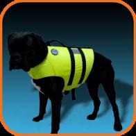 Фото спасательный жилет для средних собак друг человека m