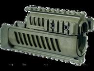 Фото Цевье полимерное с системой четырех планок (quad-rail) для АК-47 fab defense ak-47 зеленая