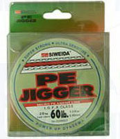 Фото Рыболовная леска плетеная pe jigger 100м 0,12 (зеленая)