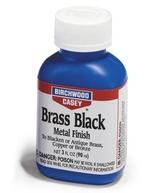 Фото средство для воронения по меди, латуни, бронзе birchwood brass black 90мл