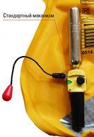 Фото запасная пластиковая клипса, сигнализирующая об активации ручного наполнения жилета, для автоматических жилетов besto без индикаторного окошка (или иных жилетов, использующих стандартный механизм автоматического наполнения united moulder mk5)