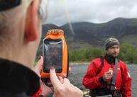 Фото aquapac 034 - mini stormproof phone case orange