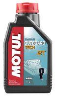Фото Полусинтетическое моторное масло motul для 2-х тактных двигателей, 1 л