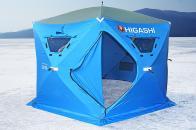Фото Зимняя палатка шестигранная higashi sota