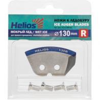 Фото Ножи для ледобура helios 130r полукруглые, мокрый лед, правое вращение nlh-130r.ml