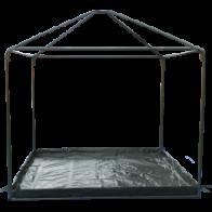 Фото пол для шатров митек пикник 3х3, 3х6 м
