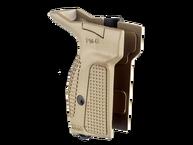 Фото рукоятка для пистолета макарова (для левши) fab defense pm-g(l) бежевая
