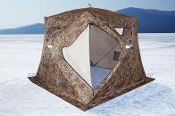Фото Зимняя палатка куб higashi camo pyramid