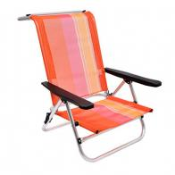 Фото Складное алюминиевое кресло boyscout orange (низкое) 61181