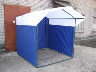 Фото Палатка торговая Митек Домик 2,5х2,0 (труба d - 25 мм) (2 места)