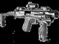 Фото комплект для переоборудования пистолета fab defense kpos g2 17/19