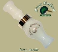 Фото Манок духовой river mallard calls ivory acrylic single reed (Утка)
