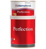 Фото эмаль 2-компонентная полиуретановая «perfection new». цвет: красный (299), 0,75 л