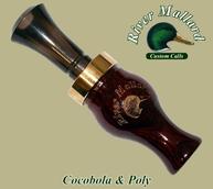 Фото Манок духовой river mallard calls cocobolo / poly double reed (Утка)