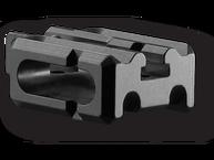Фото планка двойная для m16/m4/ar15 fab defense sbs