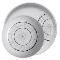 Фото плоские тарелки «polaris», 25+30,5 см