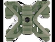 Фото адаптер молле с вращаемой планкой пикатинни fab defense rpr molle зеленый