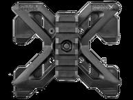 Фото адаптер молле с вращаемой планкой пикатинни fab defense rpr molle черный
