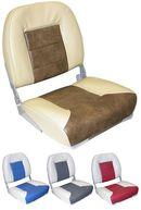 Фото сиденье «premium low back», серое с синим