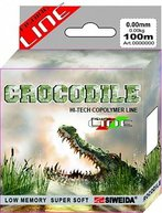 Фото леска swd crocodile 100м 0,18 (3,30кг) прозрачная