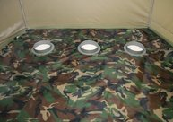 Фото пол утепленный лотос 3 пу4000 с отверстиями под лунки